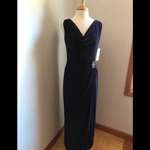Ralph Lauren Evening Gown Navy